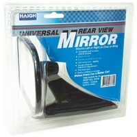 Haigh Universal Black Door Mirror