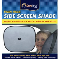 Sunland Twin Pack Side Window Car Sun Shade