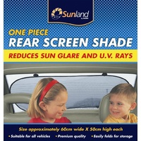 Sunland One Piece Rear Window Sunshade