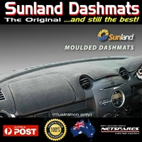 Sunland Dash Mat #A1106 (Colour: Charcoal) KIA CARENS  7/00 to 10/02 All Models