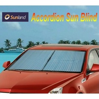 Sunland Accordion Blind Interior Sun Shade