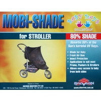 Shevron Mobi-Shade Sunshade For Baby Stroller