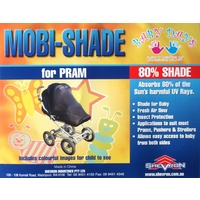 Shevron Mobi-Shade Sunshade for Baby Pram