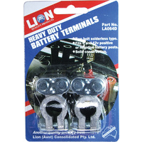 Lion Heavy Duty 2 Piece Battery Terminals