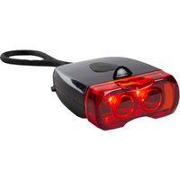 Lion 2 LED Rechargeable Rear Bicycle Lamp