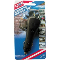 Lion 12 Volt Accessory Plug With On/Off Switch