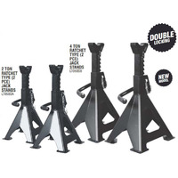 Lion Heavy Duty Ratchet Type Axle Stands