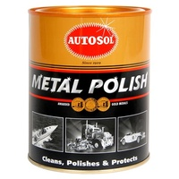 Autosol Metal Polish Protect Chrome Brass Copper Car Truck Motorcycle 1kg Tin