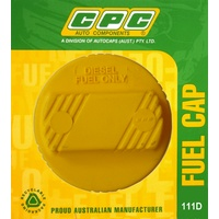 CPC Diesel Fuel Tank Cap Ford Holden Jeep Mazda Mitsubishi Nissan Toyota #111D