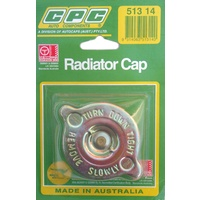 CPC Radiator Cap For Valiant Mitsubishi Galant Mercedes #513-14