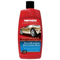 Mothers Pure Brazilian Carnauba Wax Polish Protection Shine Paint Duco Clearcoat