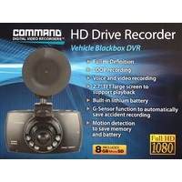 Command HD Drive Recorder Dash Cam