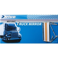 Mirror West Coaster Coast Truck Van Replacement Full Size Universal Fit By Drive
