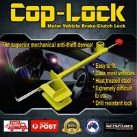 COP-LOCK Anti-Theft Brake Pedal Lock Device Auto Car Heavy Duty Security Coplock