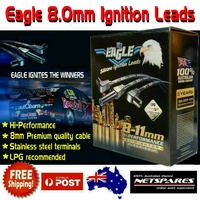 Eagle 8mm Premium Ignition Leads Ford Falcon AU Ser 2, 3 Fairlane AU Ser 2 6Cyl