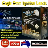Eagle 9mm Premium Quality Ignition Spark Plug Leads Holden Commodore VN VP VR V6