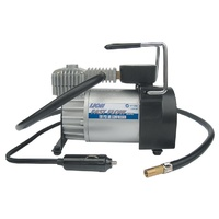 Lion Fast Flow 12V 150 PSI Heavy Duty Air Compressor Auto Cut-off Car 4WD SUV