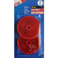 Lion 2 Piece 75mm Round Reflector