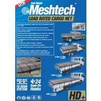 Lion Load Rated Meshtech Cargo Net 2m x 2.5m Single Cab Tray Ute Utility Trailer