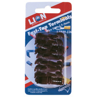 Lion Easy Fast Tap Terminals Wire Size 2.5-3.0mm Red 9 Piece