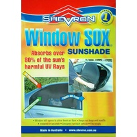 Shevron Window Sox Sunshades #WS16068 Audi A6 4/1997-1/2004