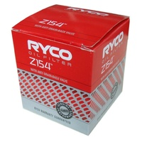 Ryco Oil Filter #Z154 Fits Daewoo Holden Nissan Saab Toyota