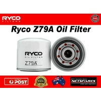 Ryco Z79A Oil Filter Suits Ford Holden Honda Kia Mazda Mitsubishi Subaru